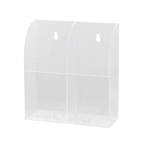 Cabilock Fernbedienung Halter Wand Halterung Lagerung Boxen Hängende Lagerung Box Lagerung Cotainer für für Telefon Fernbedienung (Einzel Raster)