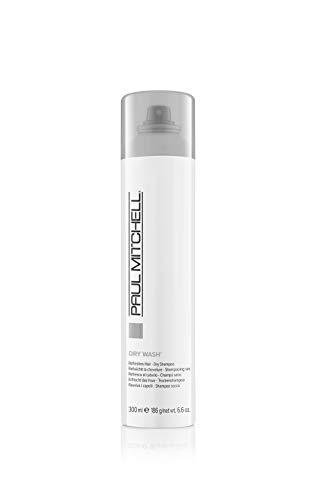 Paul Mitchell Dry Wash - Trockenshampoo für stumpf aussehendes Haar ohne Rückstände, Dry-Shampoo ideal für alle Haar-Typen und Haar-Farben - 300 ml