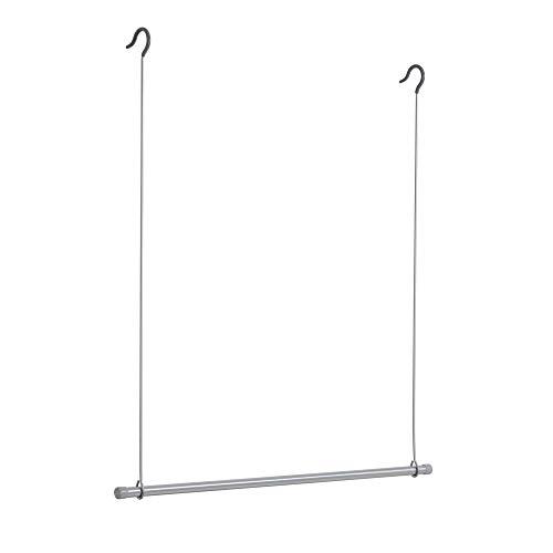 Rayen | Barra extra de armario | fácil colocación | Dobla la capacidad del armario | Barra para ropa | Para todos lo armarios | Dimensiones: 77 x 82 cm