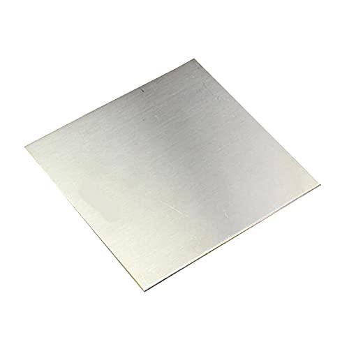 SHHMA Chapa De Acero Inoxidable Lámina De Acero Inoxidable Apto para Decoración Industrial, Espesor 4 Mm,Side Length:250mm