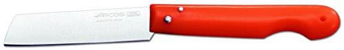 Arcos Serie Navajas Profesionales, Navaja Profesional, Hoja Filo de Acero Inoxidable Nitrum de 85 mm, Navaja de Acero Inoxidable Color Naranja