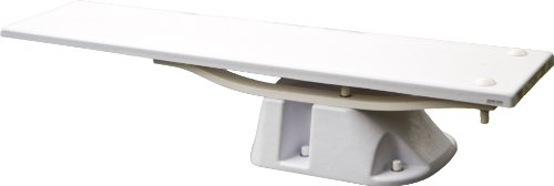 S.R.Smith 68-211-5982 Salt Pool Jump System Diving Board and Stand, 8-Feet, White
