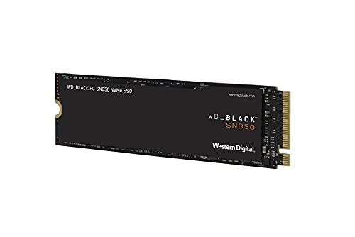 Western Digital WD Black 内蔵SSD M.2-2280 NVMe PCI-E Gen4 SN850 ゲームPC 500GB 5年保証 WDS500G1X0E-E...