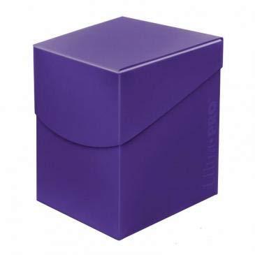 Ultra Pro 85692 Eclipse Pro 100+ Deck Box, Royal Purple