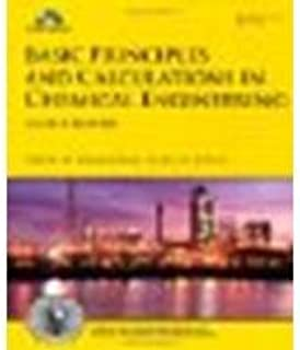 Basic Principles and Calculations in Chemical Engineering by Himmelblau, David M., Riggs, James B. [Prentice Hall, 2012] 8th Edition [Hardcover] (Hardcover)