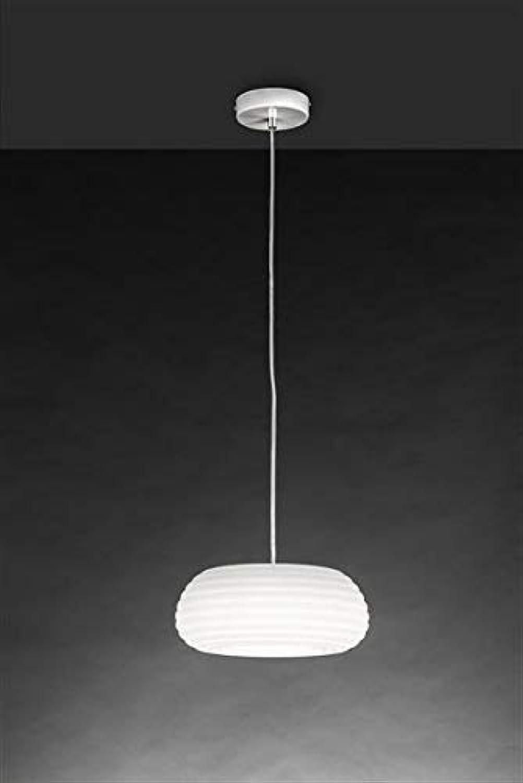 Lamp for Less Pendelleuchte Platon wei  25 cm