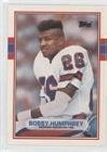 Bobby Humphrey (Football Card) 1989 Topps Traded - [Base] #113T