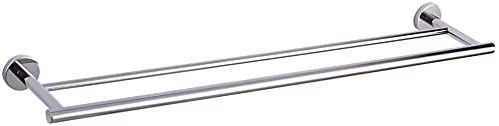 PnaXTong 36-Inch Complete Free Shipping Bathroom Double Towel Bar San Jose Mall Steel B 304 Stainless