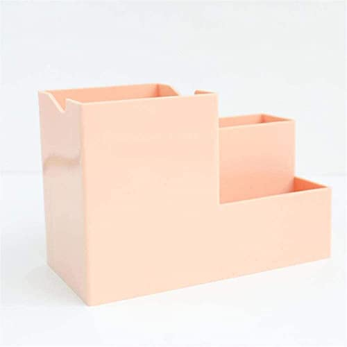 YLLAND Multifunción 4 Redes de Escritorio bolígrafos portátiles Escritorio Organizador papelería Cuadrado Pluma lápiz Soporte plástico Caja de Almacenamiento (Color: a) LNNDE (Color : D)
