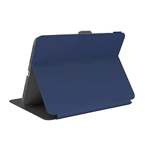 Speck Products Balance Funda Tipo Libro para iPad 2021/iPad Air (2020)/iPad Pro (2018-2020) 11 Pulgadas, con protección Microban, Arcadia Navy/Moody Grey
