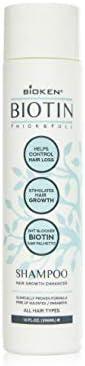 Bioken Thick Full Hair Growth Enhancer Biotin Shampoo All Hair Types Helps Control Hair Loss product image