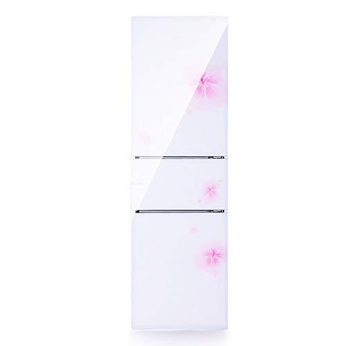 La estrella del bebé 206L de tres puertas independientes nevera con congelador cajón extraíble - blanco [Energía grado A ++