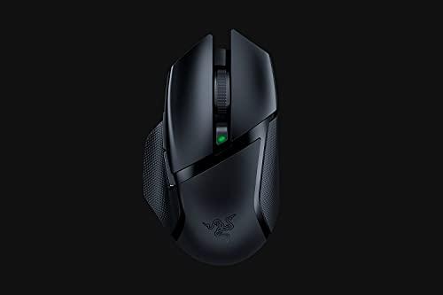 Razer Basilisk X HyperSpeed Wireless Gaming Maus (mit Razer HyperSpeed Technologie, Kabellos, 5G Advanced Optical Sensor und 6 Freikonfigurierbaren Tasten) Schwarz - 5