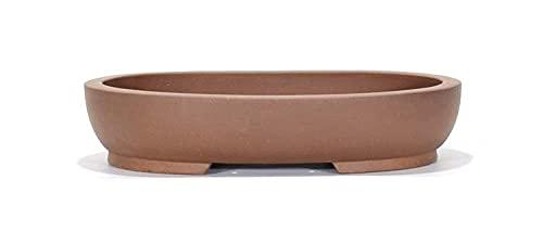 Maceta para bonsai en gres ovalado cm. 41