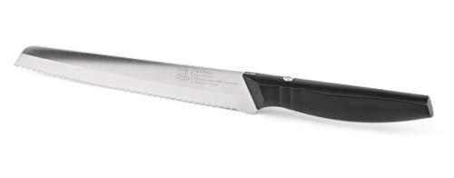 Peugeot 50085 Paris Bistro Brotmesser, Nitrox-Stahl mit 16% Chromanteil, Schwarz/Metall