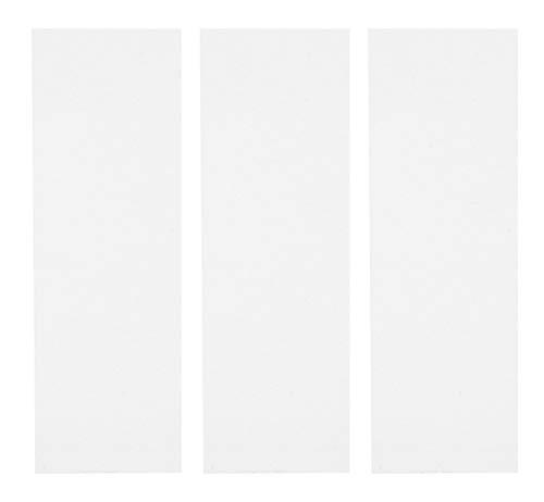 Teak Tuning Premium Fingerboard Skate Grip Tape, Transparent/Clear Edition (3 Sheets)