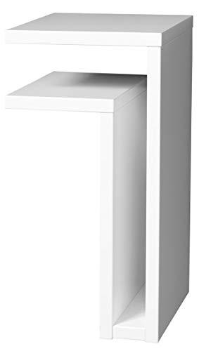 Maze wandtisch F-Regal Links 42 x 21 x 25 cm Holz weiß