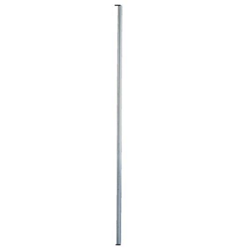PremiumX SAT Antennenmast 2m Mast Stahl 48mm inkl. Mastkappe Mastrohr Satellitenmast