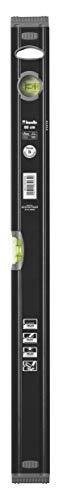 kwb Aluminium-Wasserwaage 60 cm, stoßfeste Libelle, 0,5 mm / m Genauigkeit, VPA-Geprüft, hoch präzise geschliffen, je 1 Horizontal- und Vertikallibelle inkl. Sturz-Schutz aus Gummi