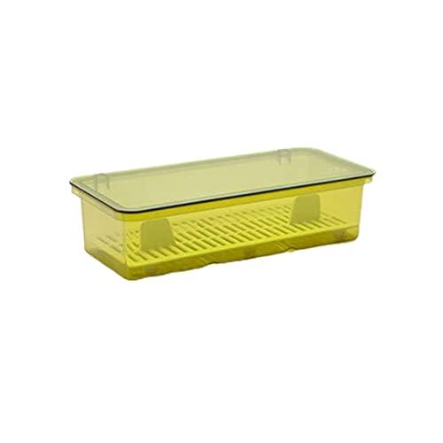 Wzdszuilsn Organizador Cubiertos, Cocina Drenaje Tenedor Caja de almacenamiento Caja de almacenamiento Caja segura Palillos Cause Titular a prueba de polvo Cuchara Organizador Cubiertos de casa con ta