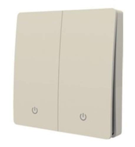 edi-tronic Funkschalter System Kinetic Switch Funk Wandschalter Schalter 2 Fach batterielos