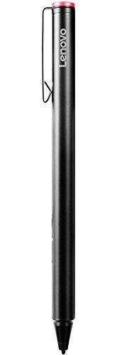 Lenovo GX80K32884 - Lápiz activo para tablet (Metal, AAAA, Universal, 20 g, 9,5 mm), Negro