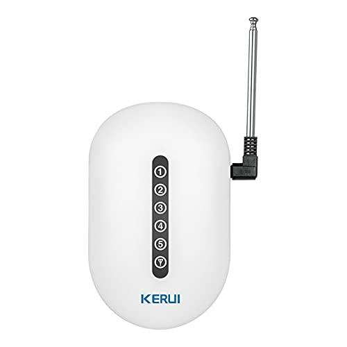 KKmoon Repetidor de Señal de Transferencia de Señal Inalámbrica Amplificador de Refuerzo Antena Dual para G18 G19 W2 W18 5900G Sistema de Seguridad de Alarma para el Hogar