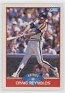 Craig Reynolds (Baseball Card) 1989 Score - [Base] #468