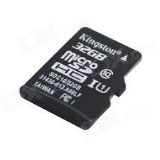 Tarjeta DE Memoria MICROSD HC 32GB