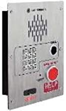 GAI-Tronics - 398-003RT - Emergency Telephone Single-Button Auto-Dial with CALL Pushbutton and Keypad Flush-Mount with Extreme Cold Weather Option (to -40 C) 120V ac Required Ramtel Retrofit