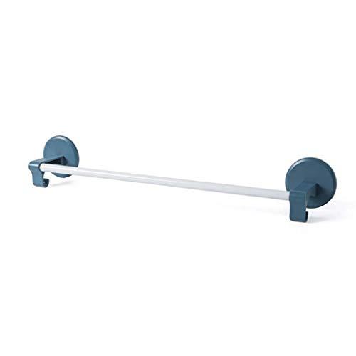 YZ-YUAN Toallero sin Perforaciones Soporte para Inodoro de baño Toallero de Pared para el hogar Toallero de baño Minimalista nórdico (Color: Azul)