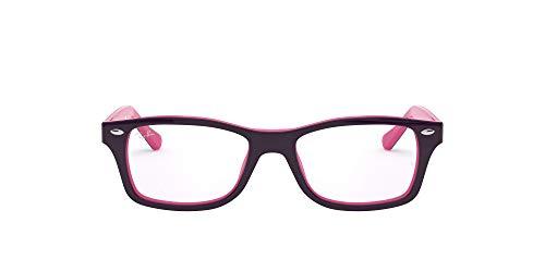 Ray-Ban Unisex-Kinder 0RY 1531 3702 46 Brillengestelle, Violett (Topo Violet On Fucsia)