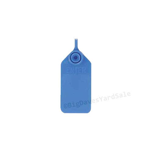 8 - Fire Extinguisher Pull Pins and 9 - BLUE Tamper Seals