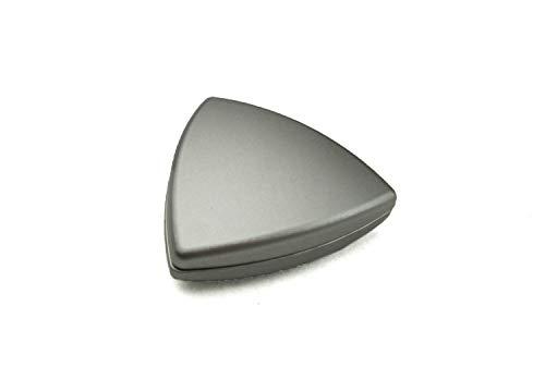 Dekomagnet - Gardinenmagnet – Magnetgriff - Magnetpin - Dreieck ca. 4 cm - starker Halt - edelstahl