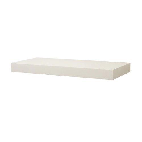 Ikea PERSBY Wandregal in weiß; (59x26cm)