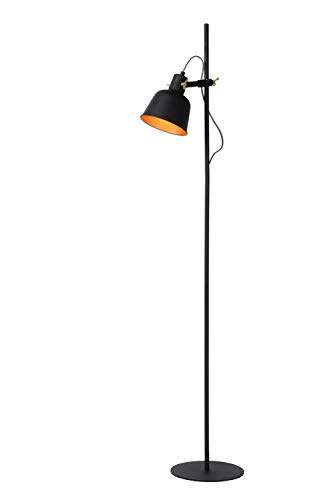 Lucide PIA - Stehlampe - 1xE27 - Schwarz