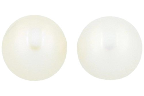 1 Paar STUDEX Medizinische Ohrstecker Perle 5 mm, vergoldet