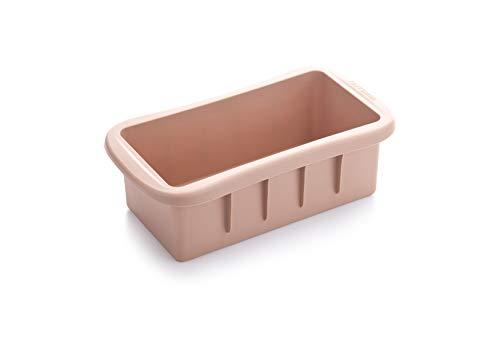 Tescoma 629554 Molde Pan Integral, Silicona, marrón, 12 x 22