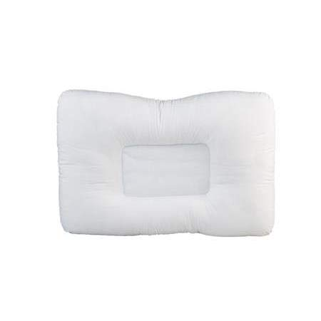 """NRG Neck & Cervical Pillow Chiropractic Pillow - Neck Support Firm Pillow for Side & Back Sleepers - Relieves Muscle Strains & Neck Pain - Cradles The Head - Poly-Fiber Fluff Filled - 15"""" x 23"""""""