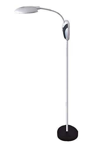 Kabellose LED Stehleuchte inkl. Batterie 140cm | Leseleuchte | Lesehilfe | Leselampe | Bettleuchte