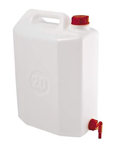 WURKO 044111 en plastique avec robinet 20l.blanco