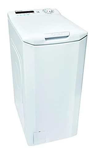 Candy Smart CSTG 482DVE/1-S Waschmaschine Toplader / 8 kg/Smarte Bedienung mit NFC-Technologie/Mix Power System/Symbolblende Weiß