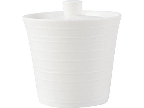 Mikasa Sugar Bowl, Bone China, White, 11 x 20 x 20 cm
