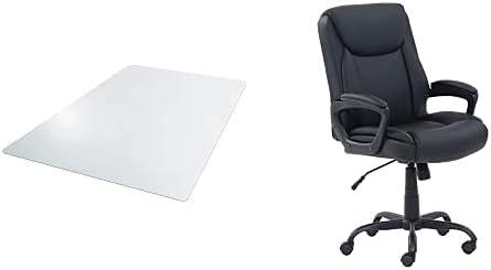 Amazon Basics Vinyl 55% OFF Chair Mat Trust Protector Floors x 47