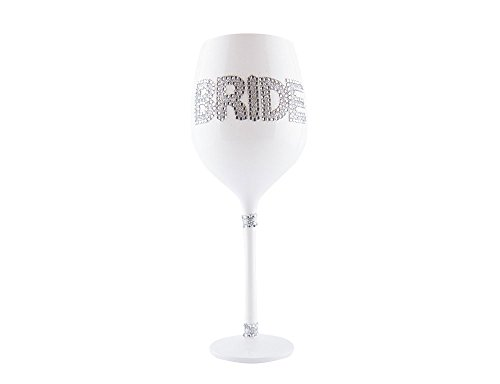 Bride Sparkly Wine Glass-Perfect Bachelorette Party Gift!!!