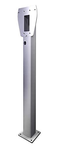 Heidelberg Wallbox 3Ph 400V 11kW 16A Typ 2 5m Ladestrom einstellbar Plus Edelstahlsäule, Wandhalterung - 3