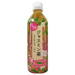 海東ブラザーズ 海東プレミアム 有機ジャスミン茶 500mlペットボトル×24本入×(2ケース)