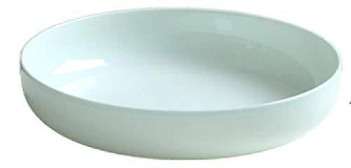 Juego de 10 platos para el hogar Jingdezhen, plato redondo de celadón, plato hondo de cerámica-7 pulgadas 4 piezas