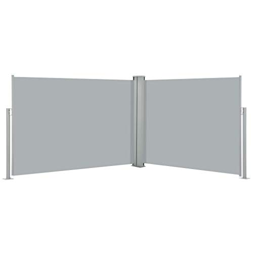 vidaXL Toldo lateral extensible antracita 100 x 1000 cm