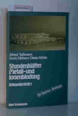 Stundenblätter Metall- und Ionenbildung. Sekundarstufe I